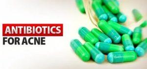 Антибиотики от прыщей на лице в таблетках