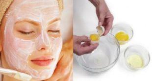 Яичная маска для лица от черных точек