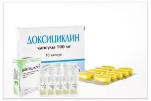Доксициклин — инструкция по применению от прыщей, отзывы