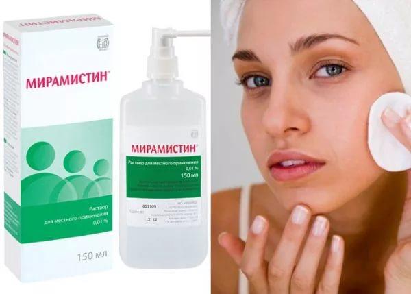 Хлоргексидин от прыщей - на лице, отзывы, можно ли протирать