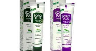 Крем Боро Плюс от прыщей – на лице, фиолетовый, зеленый