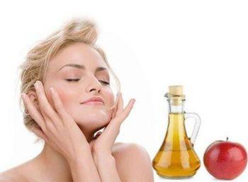 Яблочный уксус от прыщей – на лице, помогает ли, применение