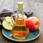 Эффективный при прыщах яблочный уксус