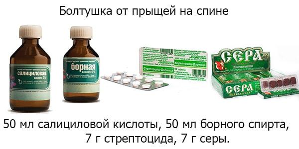 Стрептоцид от прыщей - на лице, мазь, порошок, маска, рецепт, отзывы