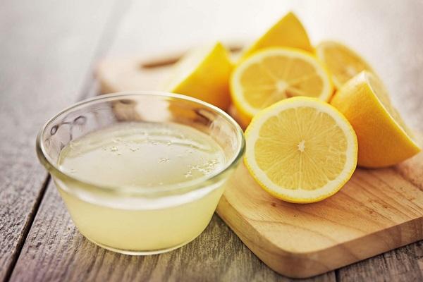 Белок яйца с лимоном