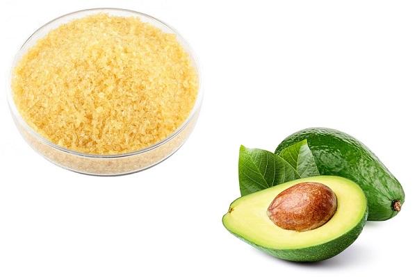 Желатин и авокадо