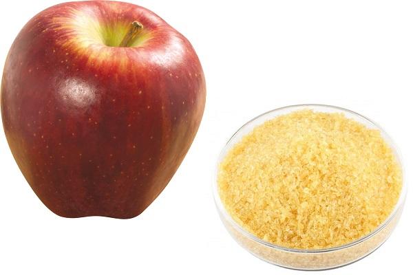 Яблоко и желатин