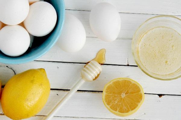 Мед с лимоном и яйцами
