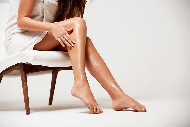 Лечение прыщей на ногах
