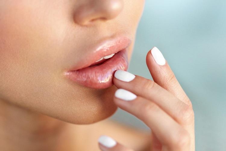 Отполированные губы
