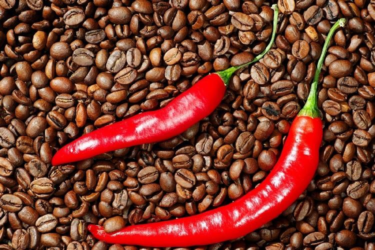 Кофе с красным перцем