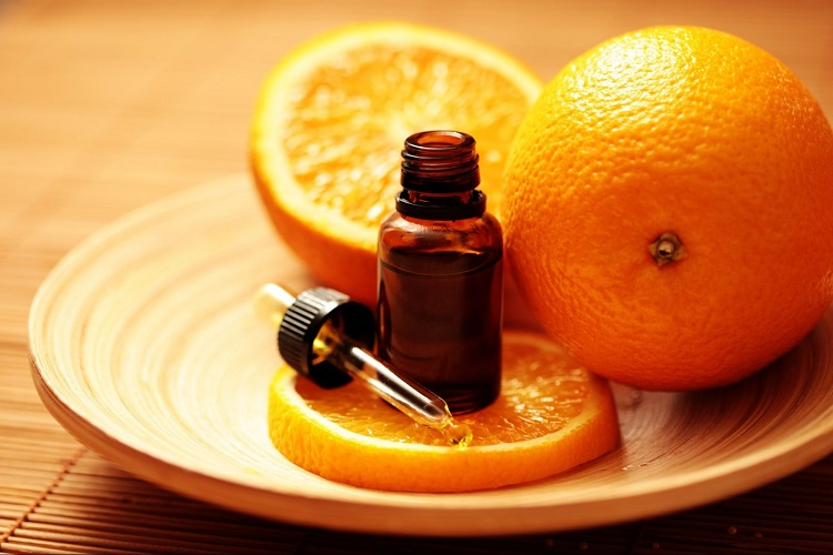 Апельсин и миндальное масло