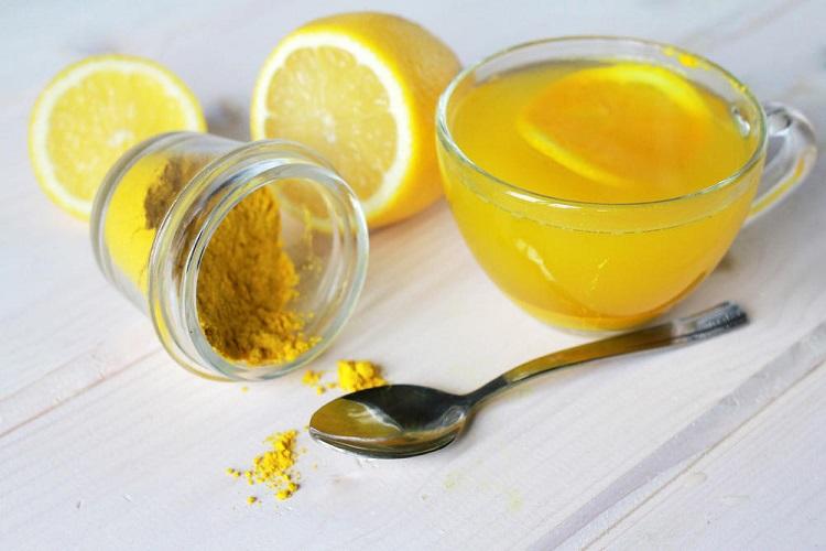Куркума и лимоны