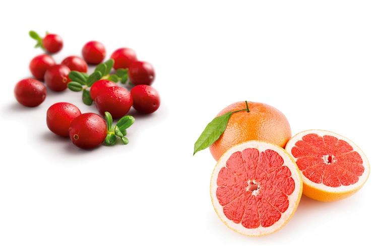 Клюква и грейпфрут