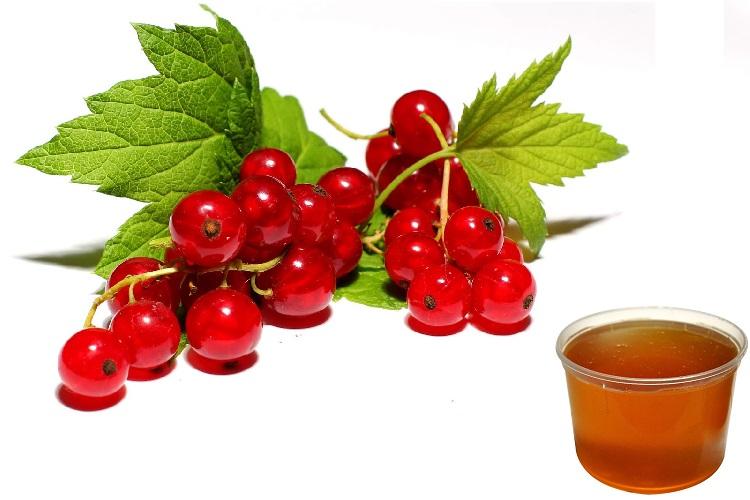 Красная смородина и мед
